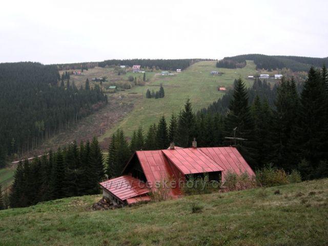 okolí Pece pod Sněžkou