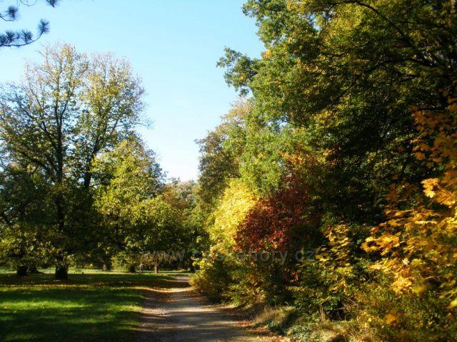 Park Hluboká nad Vltavou