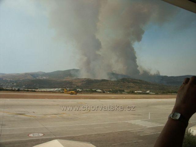 Letisko Split v ohrození