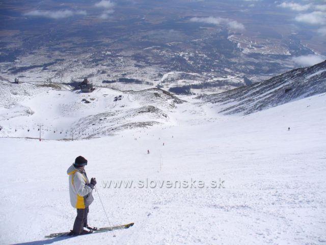 Vysoké Tatry (pohled z Lomnického štítu)