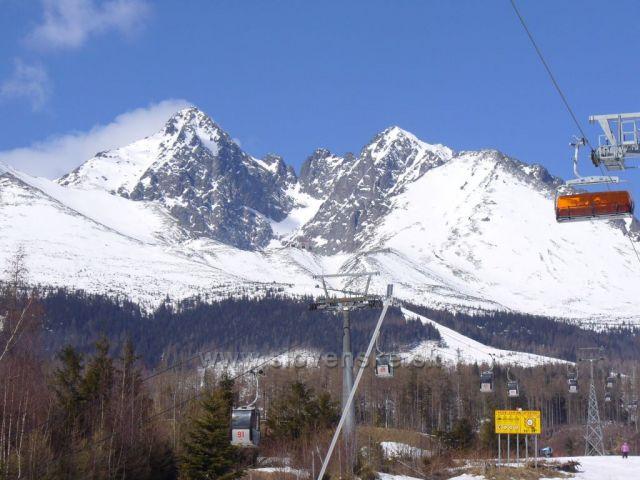 Vysoké Tatry (pohled na Lomnický Štít)