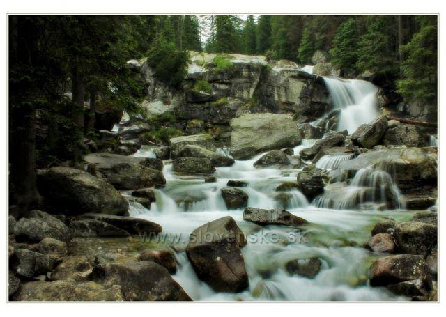 Vodopád na Studeném potoce