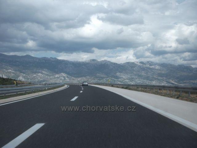 Chorvatská dálnice-odjezd domů :-(
