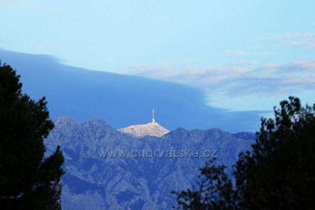 Sveti Jure,nejvyšší vrchol Biokova (1 762 m),