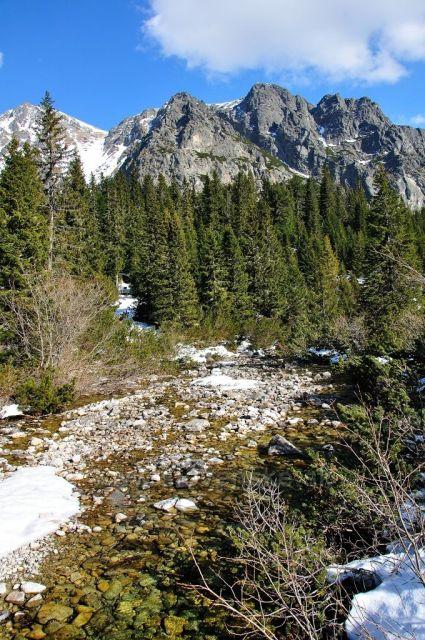 Potocik v Tatrach