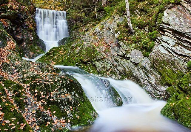 Klausův důl - Černohorský potok