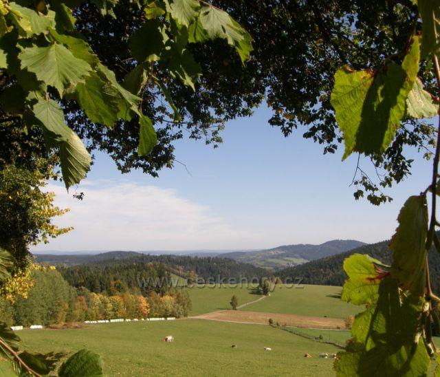 Krásná podzimní Šumava