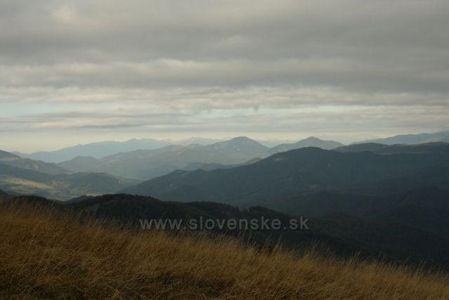 Západné Tatry z Majerove skaly