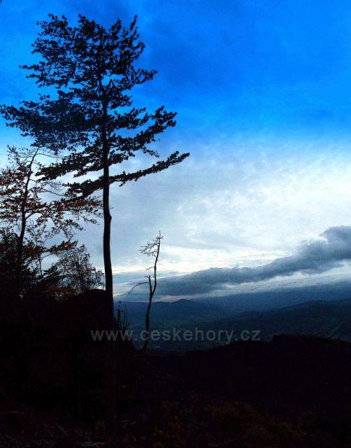 Jeseníky.Rychlebské Hory-Medvědí kámen