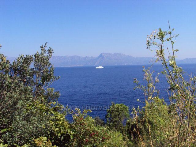 Pelješac-pohled na moře