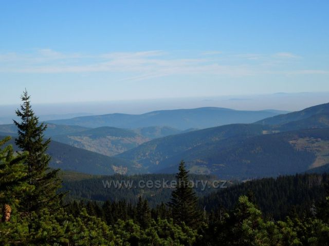 Pohled z Hnědého vrchu