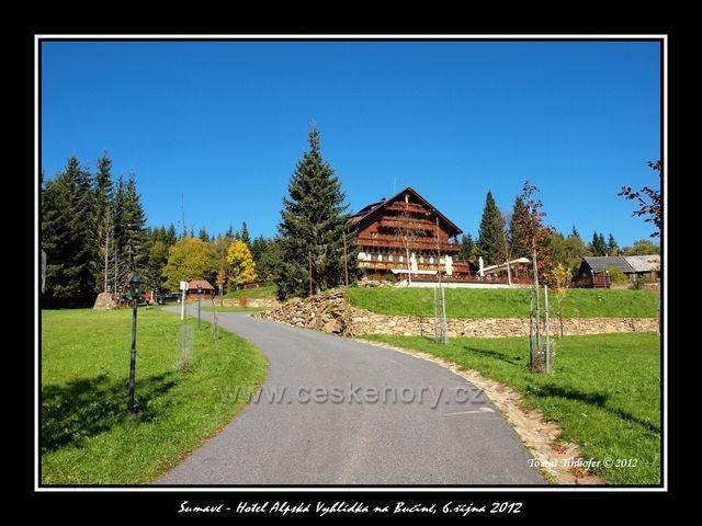 Hotel Alpská Vyhlídka na Bučině