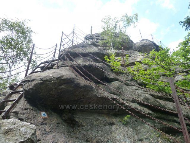 Čerovy kameny cestou na rejvíz