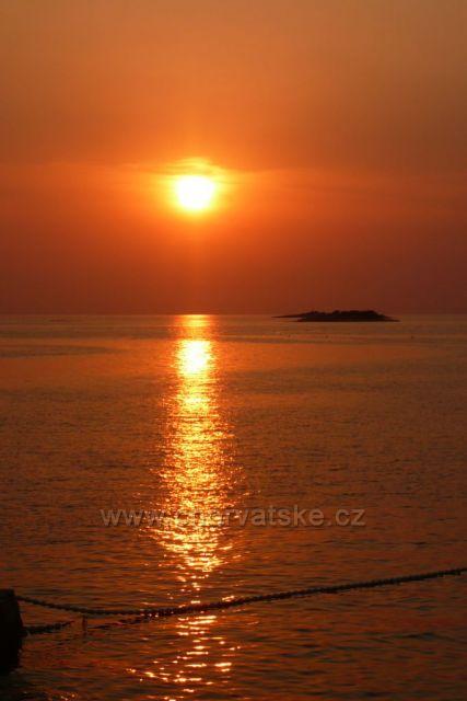 Západ slunce Poreč