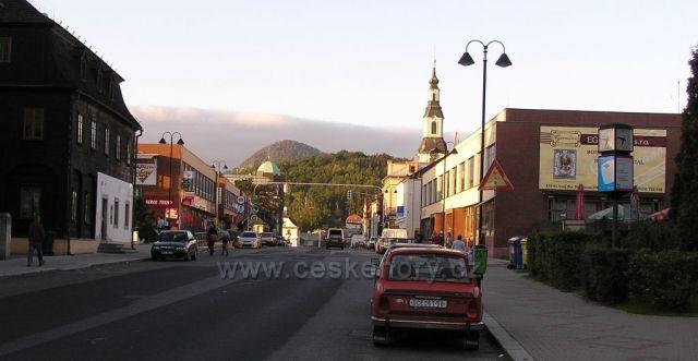 Nový bor-brána Lužických hor-v pozadí Klíč