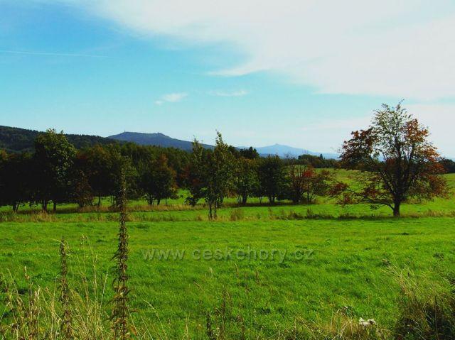 Pohled od Horní Světlé