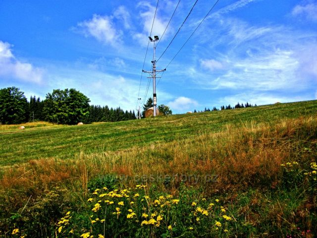 Sjezdovka na Anaberku - Andělská Hora