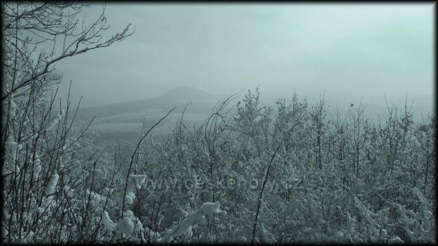 Pohled ze Skalického vrchu