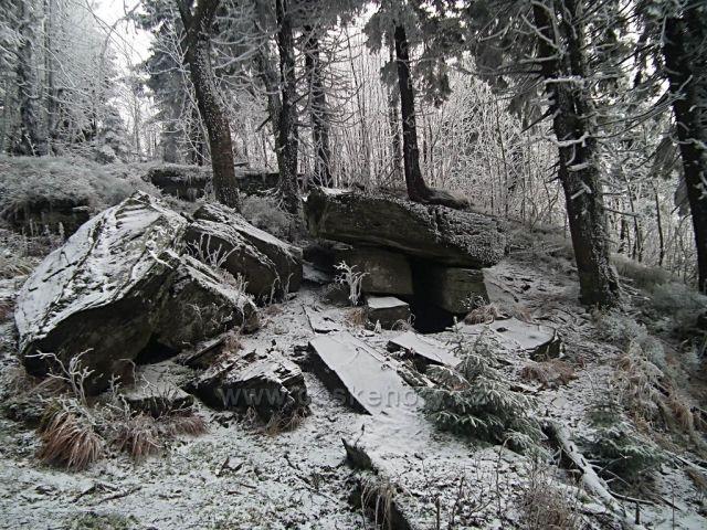 První prosincový výplaz na Čertův Mlým-1205mnm
