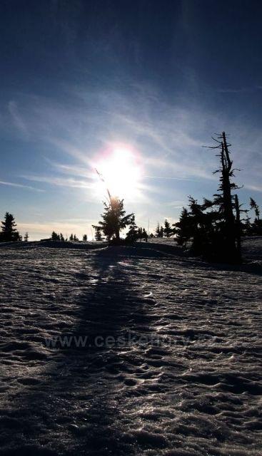 Odpolední procházka k výhledu na Sněžku