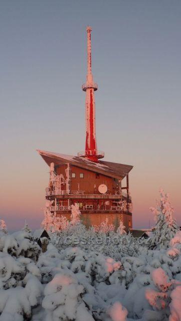 Lysá hora - vysílač