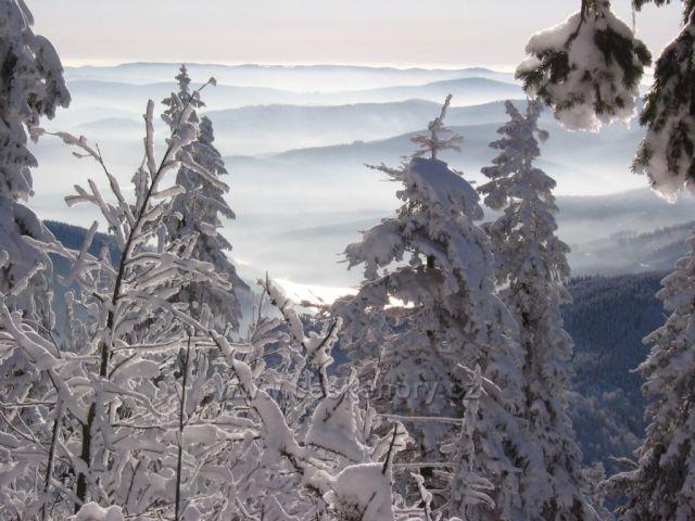 zimní království Beskyd a okolí