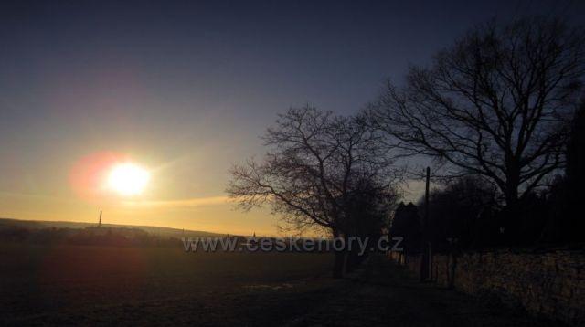 konec roku u Dobrušky
