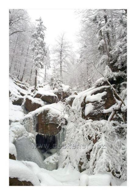 Ledovým údolím...