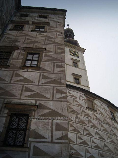 zima na zámku