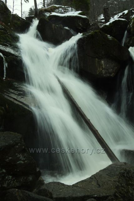 Vodopády Černého potoka