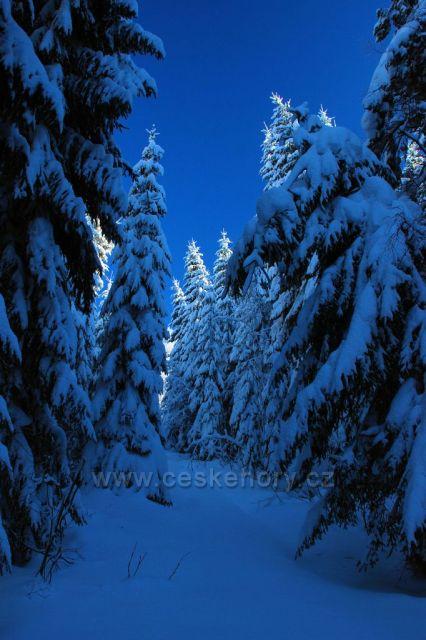 Modrá zima, Zelená hora, Kraslice