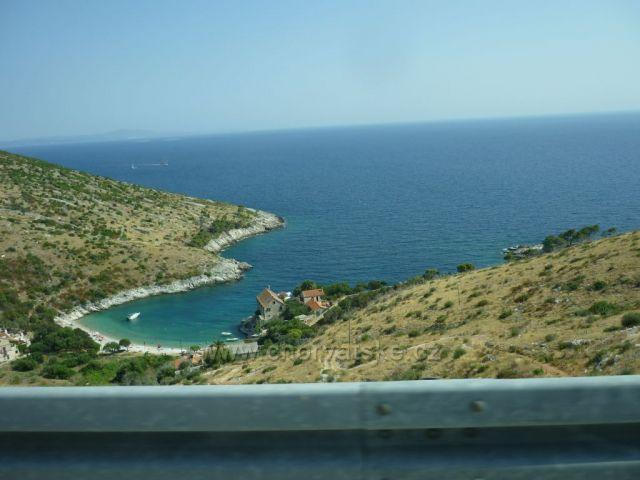 Kouzelné pobřeží na Hvaru.