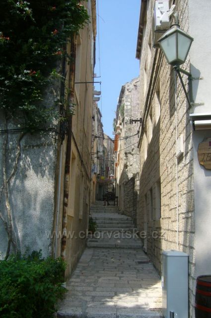 uličky města Korčula