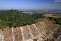 výhled z hradu Buchlova