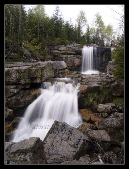 vodopád na Jedlovém potoce