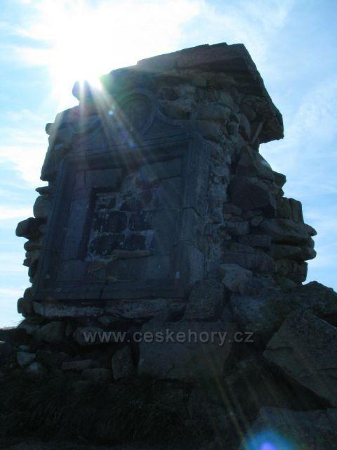 Pomník Vysokém Kole 1510m.n.m