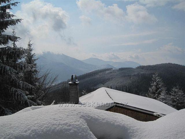 Cesta z Lysé hory 16.3.2013