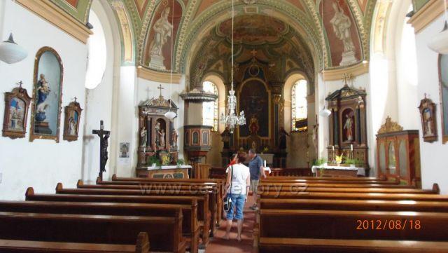 Kostel na Cínovci