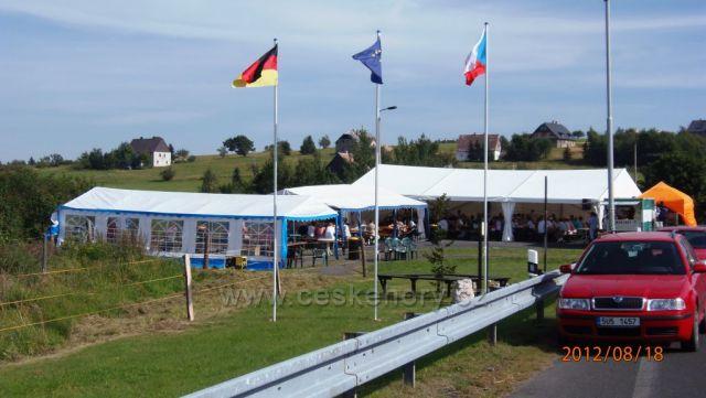 Německo-České slavnosti Cínovec 2012