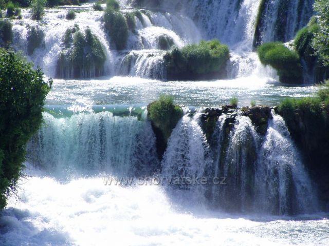 Krka - vodopády