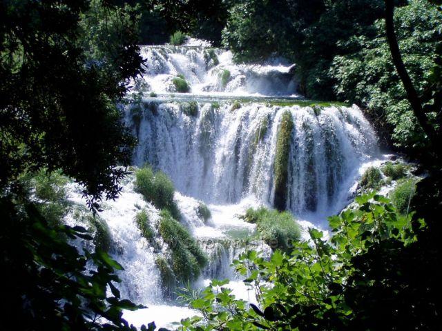 NP Krka - vodopády