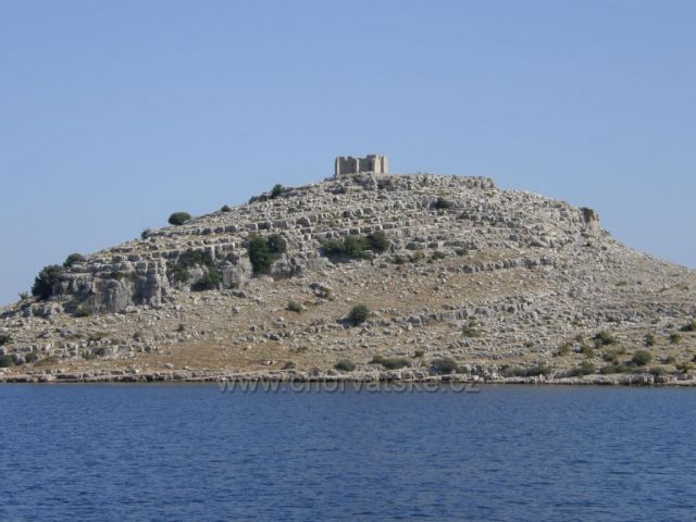 Kornati - pevnost Toretta ze 6. stol.