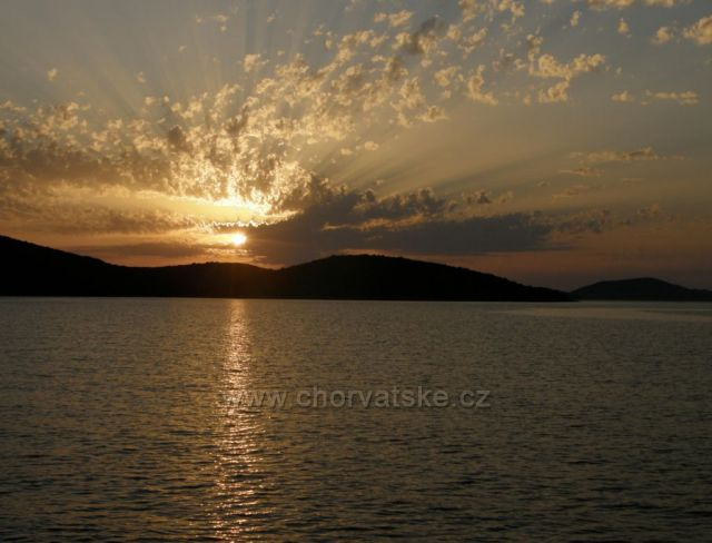 Zapad slunce u o. Dugi Otok