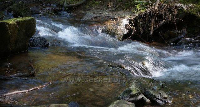 jarní potok