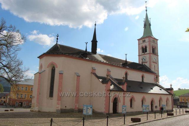 Chrám sv. Markéty, Kašperské Hory
