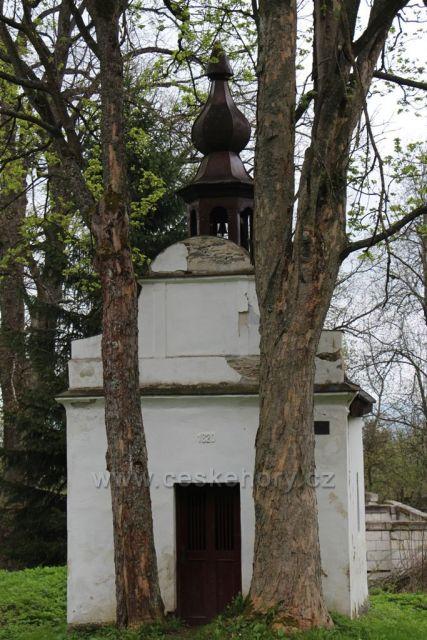 Kaplička nedaleko Žlíbku