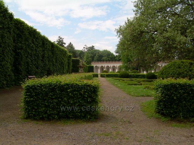 Kroměříž zahrada