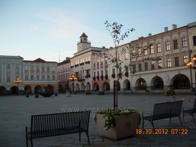 Nový Jičín - náměstí