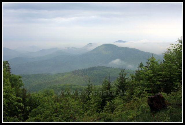 panorama z Dlhých lúk