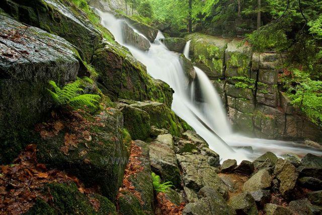 Velký vodopád Černého potoku.